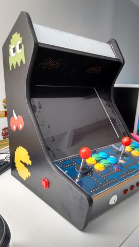 máquina recreativa bartop arcade con Raspberry pi 3b