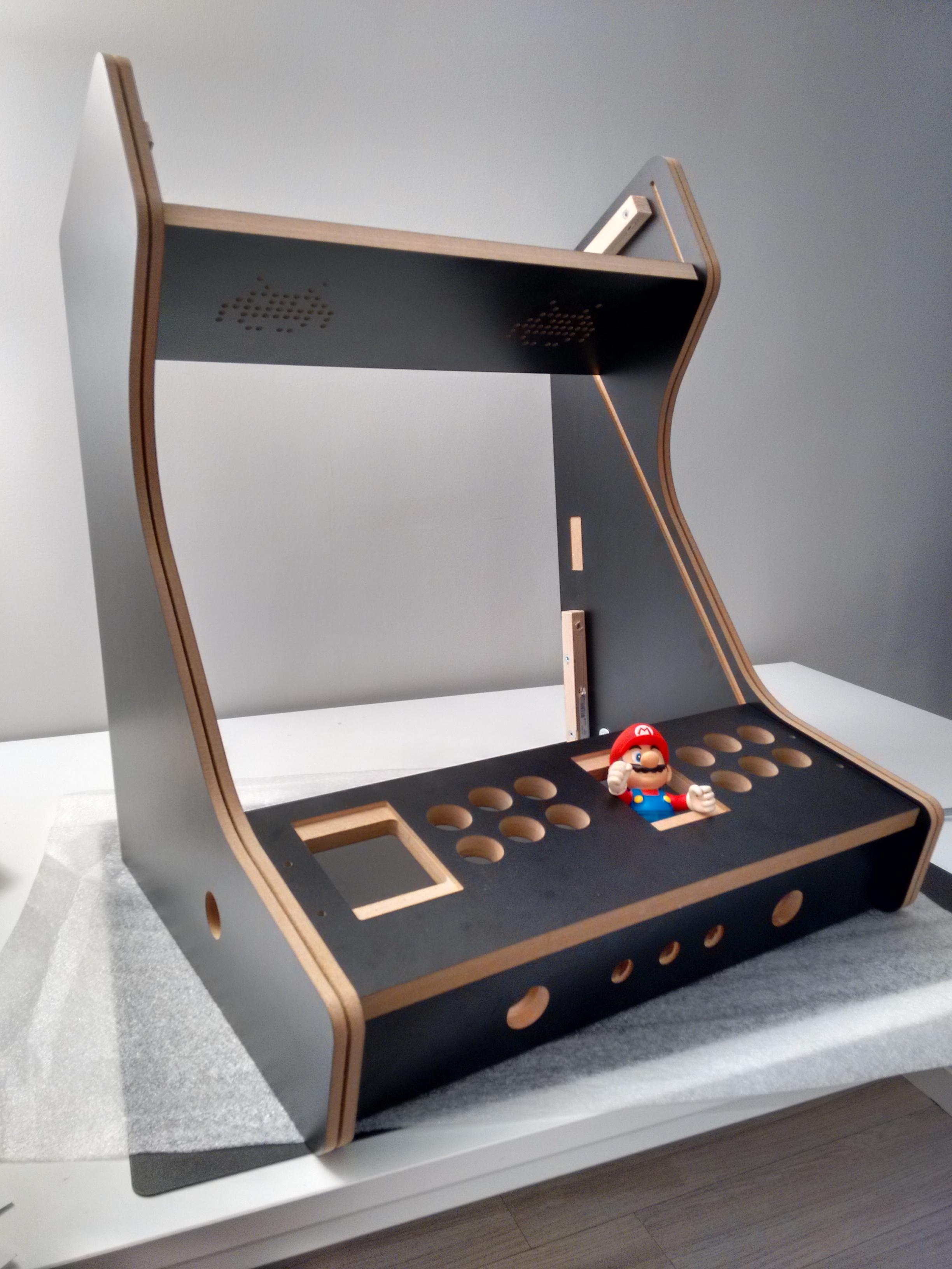 kit maquina bartop arcade raspberry pi