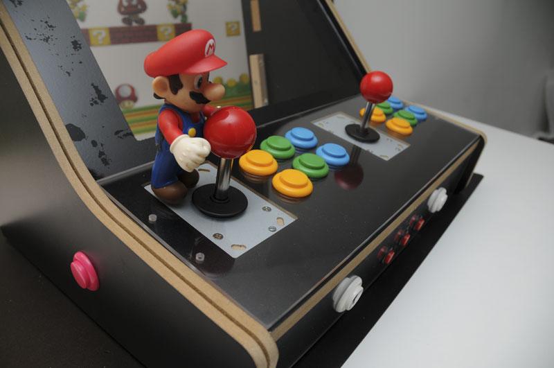 Montar estructura del kit tutorial montar m quina for Conectar botones arcade a raspberry pi 3