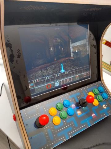 kit maquina recreativa bartop arcade con raspberry pi 3