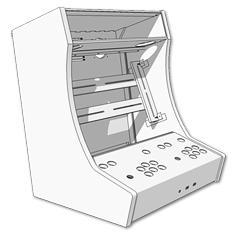 Bartop arcade kit dm planos