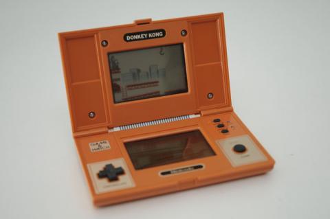 Mi maquinita lcd retro game & watch Donkey Kong